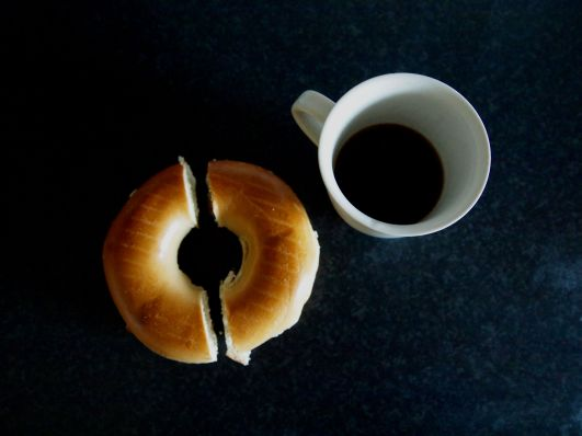 bagel-and-coffee