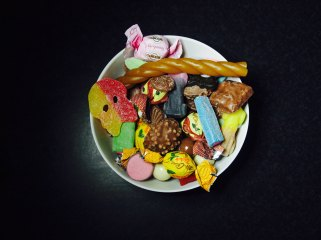 Godis, sweets, candy, bowl