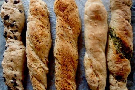 pain riche, baguette