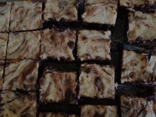 Cheesecake fudge brownies
