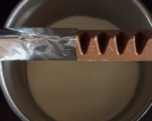 Toblerone, making truffles